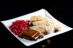 Chinese official food ingredients Stock Photos