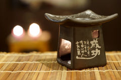 Chinese oil burner Royalty Free Stock Images
