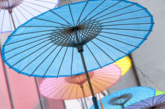 Chinese Oil paper umbrellas Royalty Free Stock Image