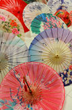 Chinese oilpaper umbrellas Stock Photo