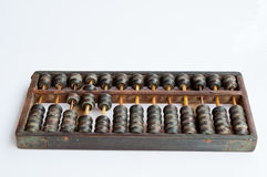 Chinese old abacus Royalty Free Stock Photo