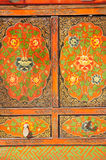Chinese Old Cabinet Royalty Free Stock Images
