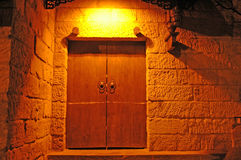 Chinese old door Stock Photo