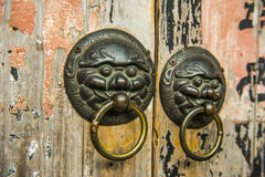 Chinese Old Door Royalty Free Stock Image