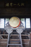Chinese old drum Stock Images