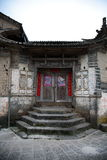 Chinese old gate Stock Photos