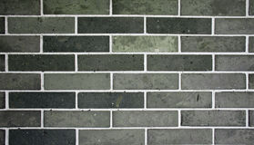 Chinese old grey brick wall. Royalty Free Stock Photography