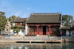 Chinese old house Royalty Free Stock Photography