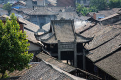 Chinese old house Royalty Free Stock Photo