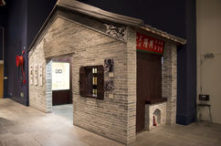 Chinese old house Heritage Museum Hong Kong Royalty Free Stock Photography