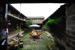 Chinese old inn Royalty Free Stock Photos