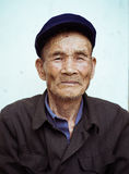 Chinese old man Stock Images