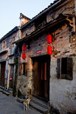 Chinese old street. This is the chinese old street royalty free stock photography