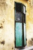 Chinese Old style Door, Abandoned building Royalty Free Stock Image
