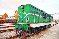 Chinese old train   locomotive Stock Images