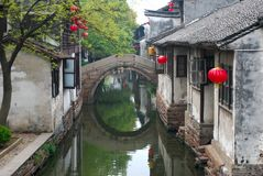 Chinese old water towm Royalty Free Stock Photography