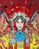 Chinese opera. Traditional Beijing opera actress in traditional costume royalty free stock images