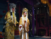 Chinese opera. Models of Chinese opera performers in Hong Kong Heritage Museum Stock Photography
