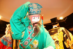 Chinese opera. This is a  puppet about chinese opera Stock Images