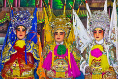 Chinese opera Royalty-vrije Stock Afbeeldingen