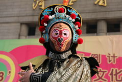 Chinese opera. Sichuan Opera, originated in China's Sichuan Province,it's Placard action is magic concerning face,perhaps John woo's Face Off, the inspiration stock photos
