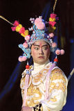 Chinese opera actor,a fighting charact Royalty Free Stock Images