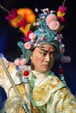 Chinese opera actor with traditional costume Royalty Free Stock Photo