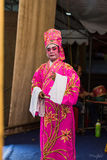 Chinese Opera, Actors in Performance Stock Images