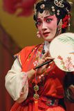 Chinese opera actress Royalty Free Stock Photography