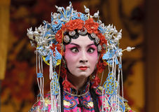 Chinese opera actress Stock Photo