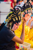 Chinese opera actress Royalty Free Stock Images
