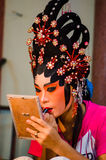 Chinese opera actress Stock Image