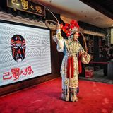 Chinese Opera Dance in stage Stock Photos