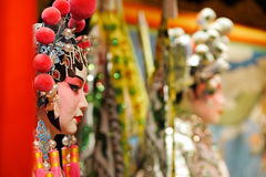 Chinese opera dummy Royalty Free Stock Image