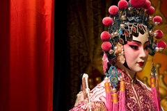 Chinese opera dummy Royalty Free Stock Photography
