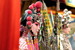 Chinese opera dummy Stock Image