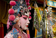 Chinese opera dummy Royalty Free Stock Images