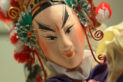 Chinese opera dummy Royalty Free Stock Photos
