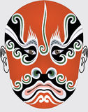 Chinese opera face Stock Photo