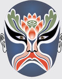 Chinese opera face Stock Photography