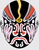 Chinese opera face Stock Photos