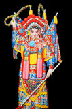 Chinese opera figure Royalty Free Stock Image
