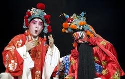 Chinese Opera Kunqu: Gongshunzidu stock afbeelding