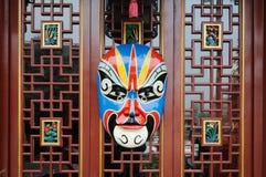 Chinese opera mask Royalty Free Stock Image