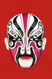 Chinese opera mask Stock Image
