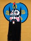 Chinese opera mask Stock Image