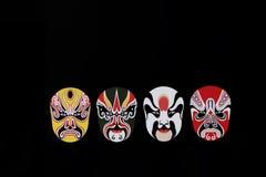 Chinese opera mask pattern Royalty Free Stock Images