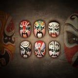 Chinese Opera Mask Royalty Free Stock Photos