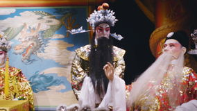 Chinese Opera. stock video footage