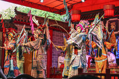 Chinese opera. Royalty Free Stock Images